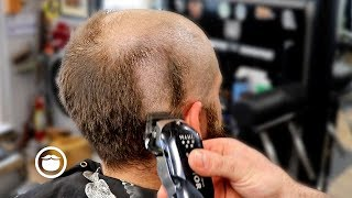 Download Dramatic Bald Head Shave Transformation | The Dapper Den Barbershop Video