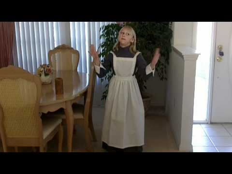 Genevieve as Florence Nightingale