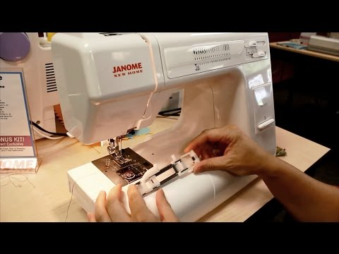 Using the 1 Step Buttonhole Feature on the Janome HD3000