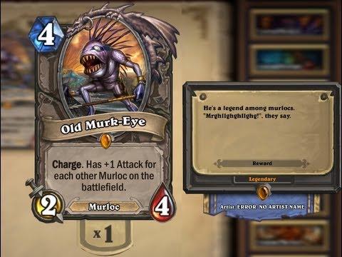 Hearthstone Beta: Old Murk Eye