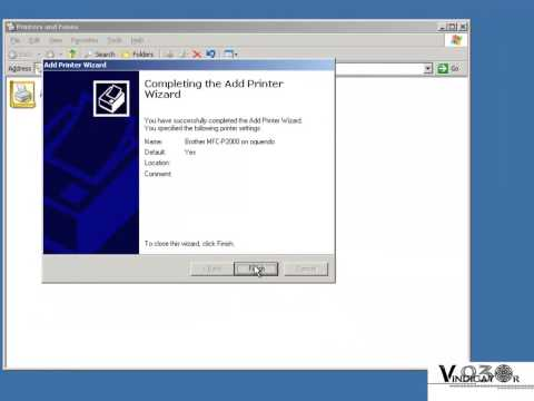 Network Printer (Windows Server 2003)