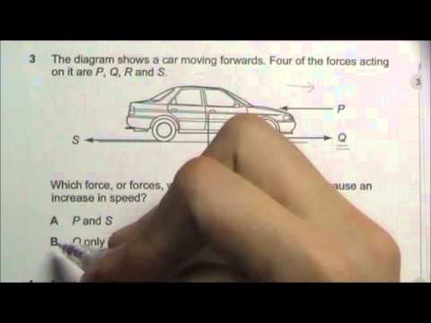 2008 O' Level Physics 5058 Paper 1 Solution Qn 1 to 5