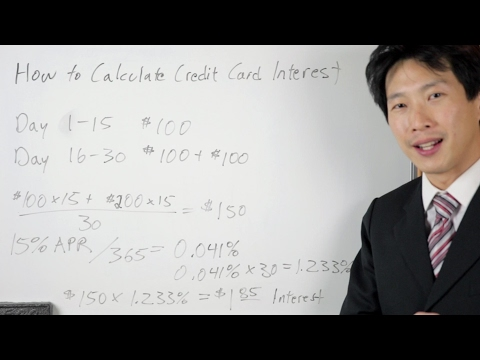 How Credit Cards Calculate Interest | BeatTheBush