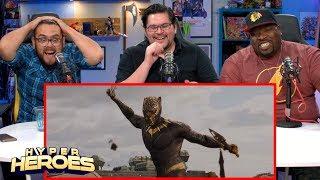 Marvel Studios Black Panther Official Trailer Reaction