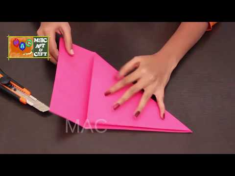 How To Make ship With Craft Paper  ,Simple Art For Kids ,paper ship craft