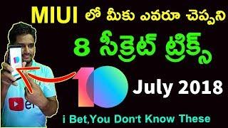 Miui 10 Global Beta installation & Features ll in telugu ll
