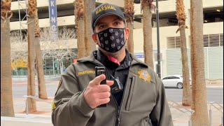 US Marshalls Mask refusal in Las Vegas goes wrong (EPIC FAIL)