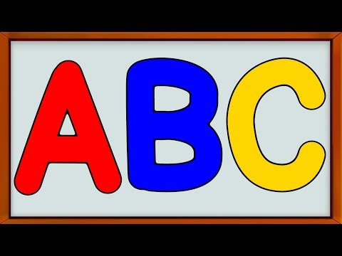 Learn Alphabets | How to Write | Educational Video for Children and Babies