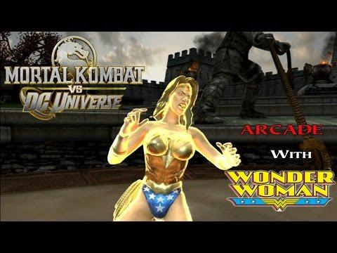 Mortal Kombat VS DC Universe Playthrough - Wonder Woman