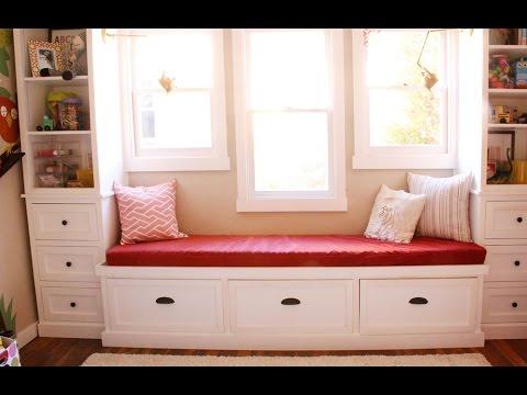 25 Inspirational Window Seat Design Ideas