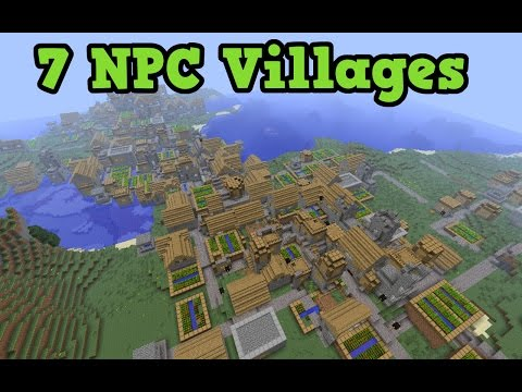 Minecraft Xbox 360 + PS3 Seed: 7 NPC VILLAGES + 2 Desert Temples