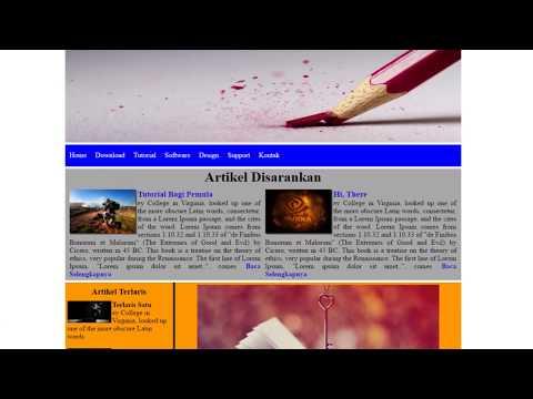 Cara Memasukkan Link Pada Teks di HTML