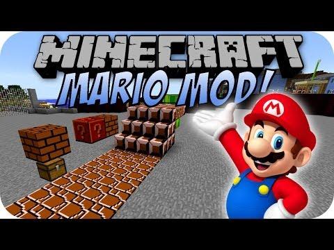 Minecraft MARIO MOD