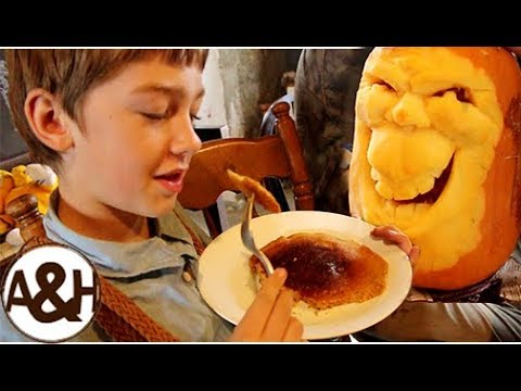 Fluffy PUMPKIN pancake recipe!