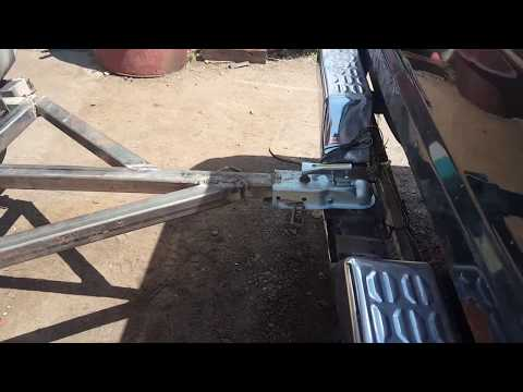 Make a cheap and easy tow bar. Diy welding project