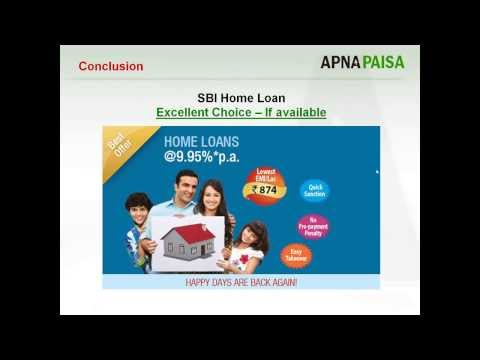 SHOULD YOU CHOOSE SBI FOR YOUR HOME LOAN?