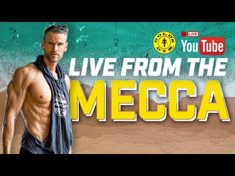 LIVE AT GOLD'S GYM VENICE - THE MECCA OF BODYBUILDING