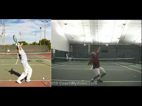Tennis Serve - Personalized Lesson from Bob