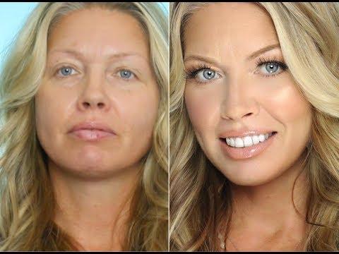 Transformation Makeup on Middle Aged/ Mature Skin   Julia Dantas + Crystal Andrus