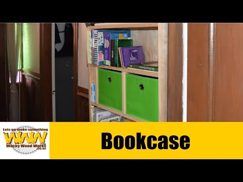 Can I build a bookcase in my small workshop - Off the Cuff - Wacky Wood Works.