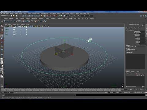 Maya tutorial : How to create a turntable for demoreels in Maya