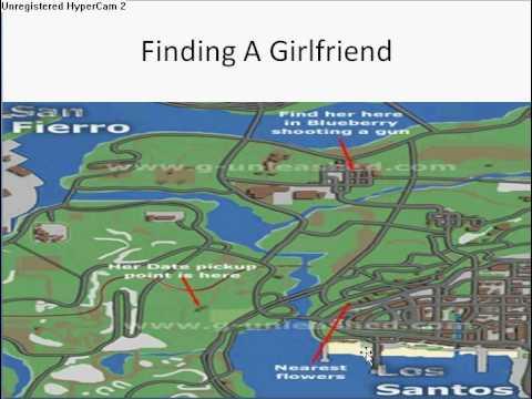 Find a girlfriend on gta sa