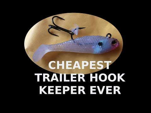 Cheap DIY Trailer  Hook Keeper Hack Easy Way To Attach An Extra Hook