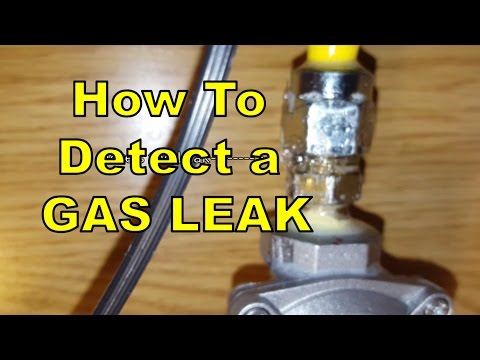 DIY #81 How To Detect a Natural Gas Leak