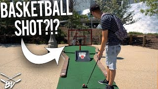 HAVE YOU EVER SEEN A MINI GOLF COURSE LIKE THIS?!