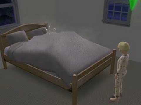 Child Watches Parents Woohoo - Sims 2