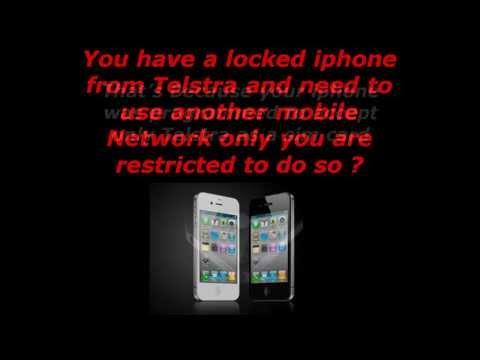 Unlock Telstra iPhone to Optus Virgin Vodafone Hutchison with IMEI via iTunes