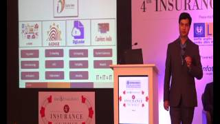 Sanjay Pathak At The 4th D&b Insurance Summit, Powered By 3i Infotech Ltd.