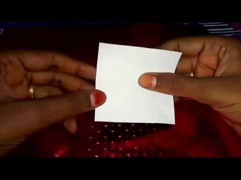 How to make paper ring ? | Paper made Rings | Little Star
