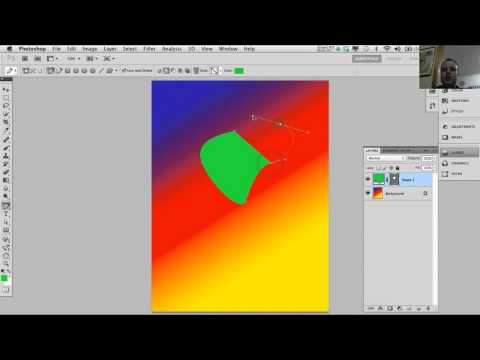 Path and Pen tool in Adobe Photoshop - Tutorial 5 of 7