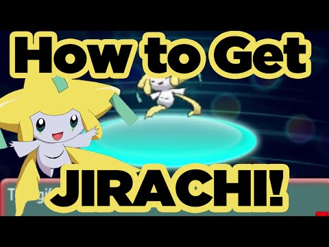 How to get JIRACHI before its GONE! Legendary Mythical Pokemon JIRACHI Available NOW! Pokemon XYORAS