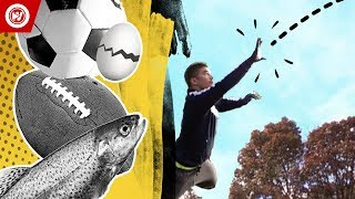 World Record | One-Handed Catches