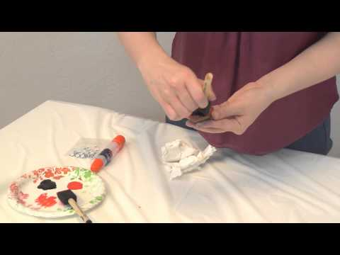How To- Lady Bug Rocks