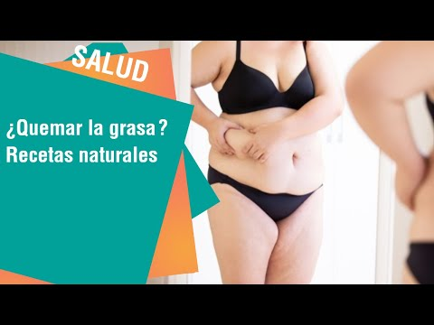 Recetas naturales para quemar la grasa abdominal