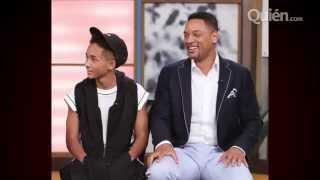 Will Smith avergüenza a su hijo en TV