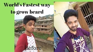 How To Grow Beard Faster Naturally At Home Fastest Tricks 2016 Parody