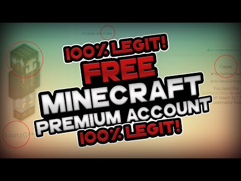100% LEGIT! - HOW TO GET MINECRAFT PREMIUM ACCOUNTS FOR FREE - 2016 [BEST ALTGEN EVER!]