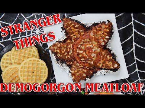 Demogorgon Meatloaf   STRANGER THINGS   The Starving Chef