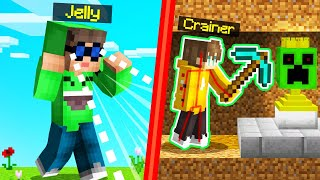 HACKING SPEEDRUNNERS vs. HUNTERS With X-RAY GLASSES! (Minecraft)
