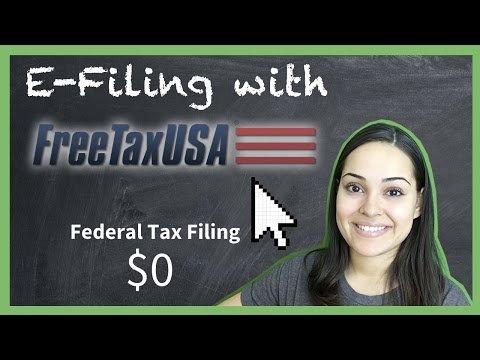 Taxes: E-Filing With FreeTaxUSA.com