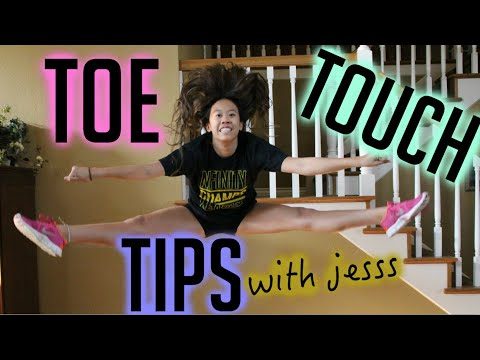 TOE TOUCH TIPS with jess!