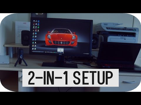 THE 2-IN-1 GAMING SETUP TOUR! (2016)