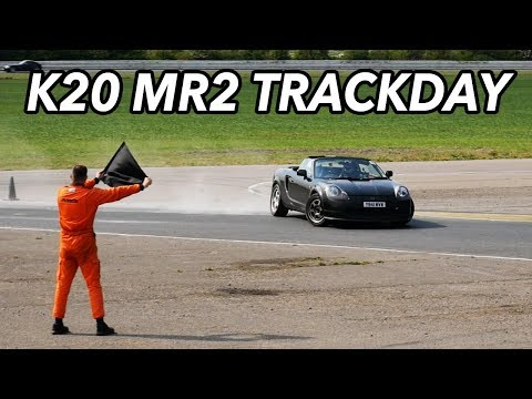 K20 MR2 trackday! IT'S EPIC.