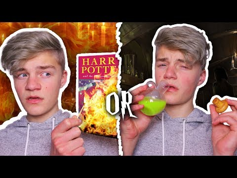 HARRY POTTER WOULD YOU RATHER!