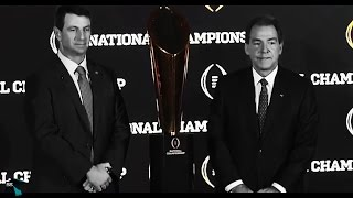 Road2Redemption: Clemson Football Cinematic Highlights (2017 CFP Title Rematch)