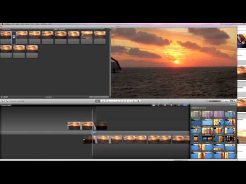 iMovie Tutorial: The Different Transitions in iMovie